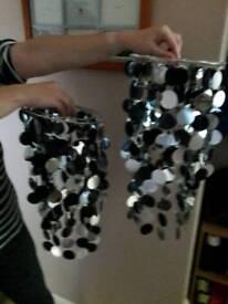 Brand new matching lampshades