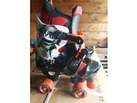 Roller skates new size 13 to 3