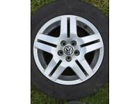Vw golf gt alloys
