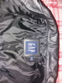 Gap soft Leather Jacket