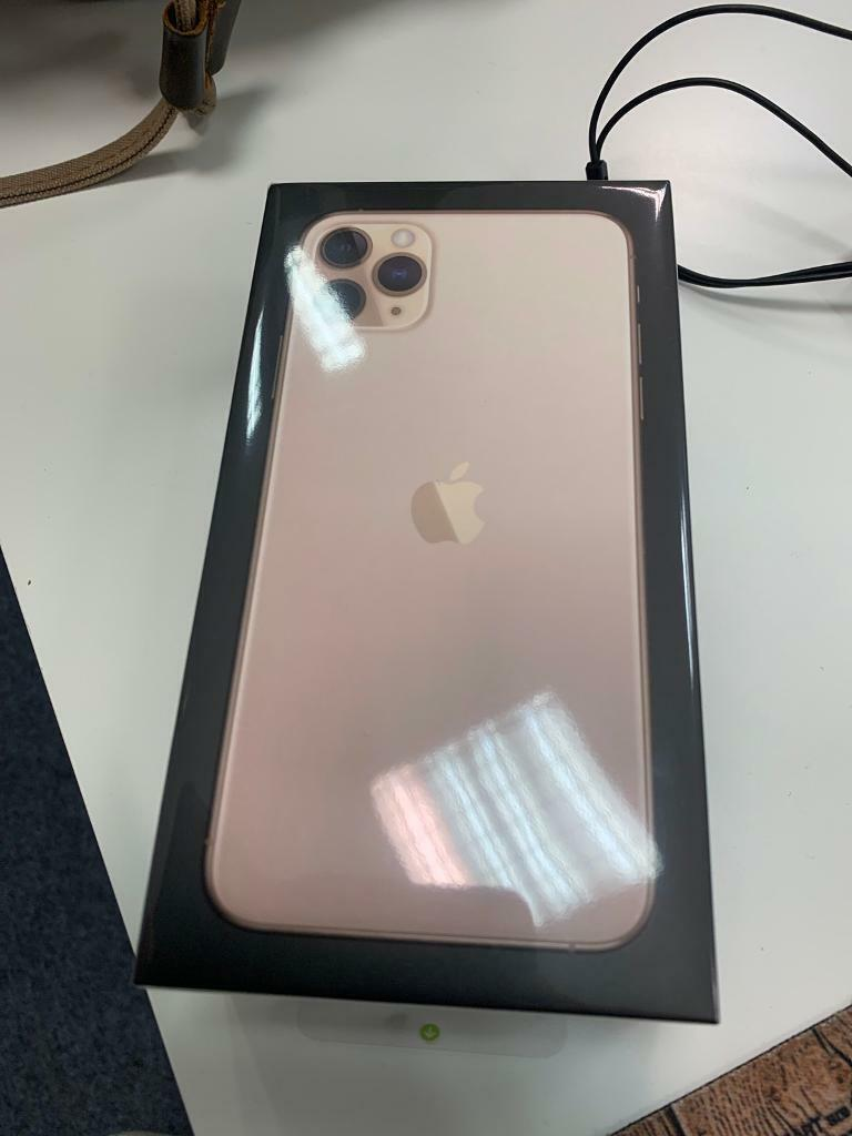 Brand new sealed box Apple iPhone 11 Pro Max 64gb gold O2. | in Bournemouth, Dorset | Gumtree