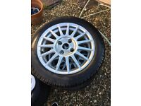 X2 Ford Fiesta Alloys with new tyres