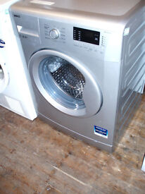 BEKO 7 kg Silver Washing Machine Delivery Available Bedford Area