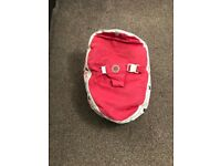 Pink baby bean bag for sale  East Ardsley, West Yorkshire