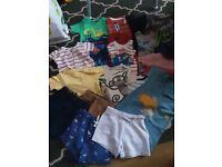 Summer baby boy bundle