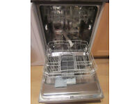 Silver Hotpoint Dishwasher -SOLD spc on 22/10/17