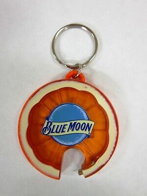 Beer Key Chain Bottle - Blue Moon Beer Orange Slice Bottle Opener/Key Chain