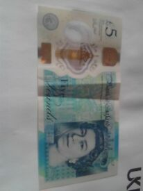 Bargain 2 x Rare AK47 5 Notes very rare and collectable, only £999 each or £1750 for both together