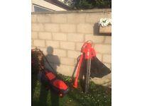 Lawnmower & blower leaf- set
