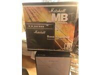 Marshall Bass Amplifier MB Series - Fantastic Bass Amp!