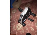 Electronic pedal exerciser
