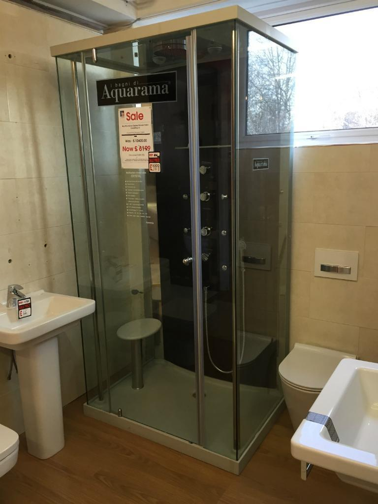 Multifunction Steam Shower Cabin/Cubicle from Aquarama - Crystal ...