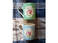 2 Cath Kidston Cups