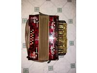 Vintage antique Pietro accordion