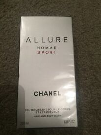 Chanel Allure Homme Sport Hair & Body Wash