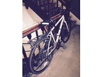 """VOODOO Hybrid Bike - 20"""" Frame- Including Bike Mug guard, rear Rack and Heavy Duty lock"""