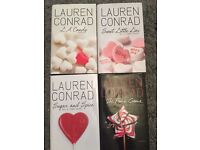 Lauren Conrad novels x4
