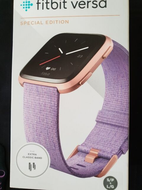 Fitbit Versa Special Edition Watch with Rose Gold Aluminum Case | in  Ripley, Derbyshire | Gumtree