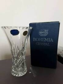 Genuine Bohemia Crystal Vase