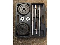 Bodymax Hammertone Barbell Kit