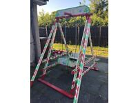 Children's fun fair swing
