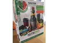 Salted NutriPro 1200 blender - NEW