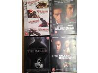 Selection of Serial Killer DVDs
