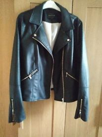 River Island Leather Look Jacket.