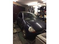 FORD KA LUXURY 2001 FOR SALE FOR PARTS