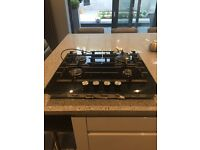 BOSCH PPP616M91E 4 RING BLACK GLASS GAS HOB 12 MONTHS OLD (VGC)