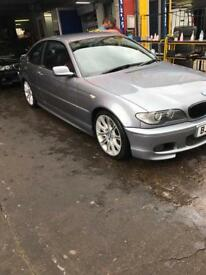BMW 320CI MSport Gun metal Grey FSH 04 plate
