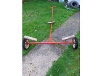 Dinghy launching trolley cheap to clear, used condition but very robust and ready to use