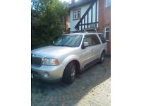 Lincoln Navigator 2004 LPG fully loaded