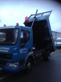 Daf LF45 150 tipper 7.5t low mileage excellent condition