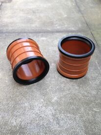 Underground drainage, 110mm, pipe and fittings