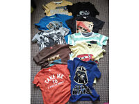 House clearance! Collection ONLY! Bundle of 22 pieces of Summer clothes for boy 4-5 years.