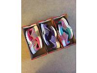 Nike Presto trainers size 4.5 (1 pair peach 3.5)