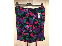 New with tags size 12 tulip skirt