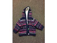 TU Unisex Cardigan / Jacket for 0-3 months baby- Hardly used