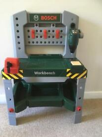 Bosch children's tool bench
