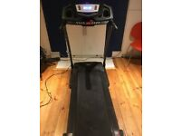 V-Fit PT141 Motorised Folding Programmable Treadmill