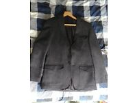 AS NEW 100% Wool Italian Men's Jacket - Size 48