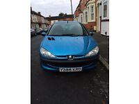 2001 Peugeot 206 1.4 petrol MOT to July 5dr lady owner
