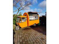 Electric Engine Bike Tuk Tuk Mobile Catering Trailer Food Cart Burger Van Ice Cream Cart