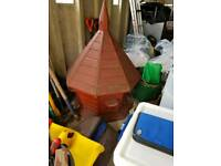 Dovecote, handmade, large, with mounting pole