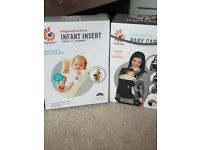 Ergo 360 baby carrier and infant insert