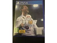 FIFA 18 BRAND NEW UNOPENED (DUPLICATE GIFT) PS4