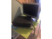 DVd Player, video recorder, monitor with Scart lead