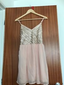 Hollister 'medium' sized soft pink dress for sale