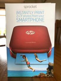 *BRAND NEW* HP Sprocket 100 pocket printer BNIB *postage available*